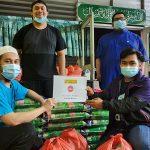 Agihan Food for Needy Kepada Asnaf Sabak Bernam